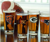 Customized NFL Glasses